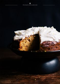 Carrot cake in a healthy version