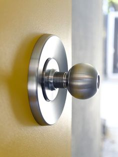 period correct Eichler style door knob and hardware