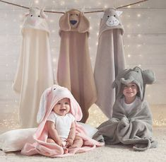 Animal Hooded Towel - Baby