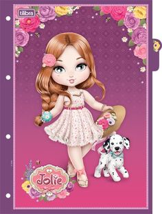 Divisórias Para Caderno Argolado Universitário Jolie
