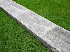 18th c. Stone Coping. CHateau Domingue Houston TX: Pool Coping.