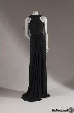 Evening Dress Madame Grès, 1938 The Museum at FIT