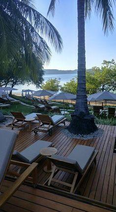 Relax in the sun at Secrets Papagayo Costa Rica.  Photo credit: Matt Brightman