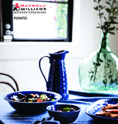 Show off your culinary skills with this new range from Maxwell & Williams #HOMEetc #PONTO Arriving 10 - 14 April 2017 All stores