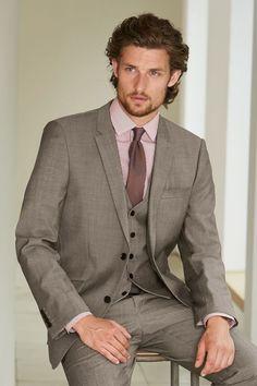 Next Taupe Suit: Jacket
