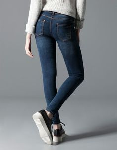 Stradivarius Denim slim skinny