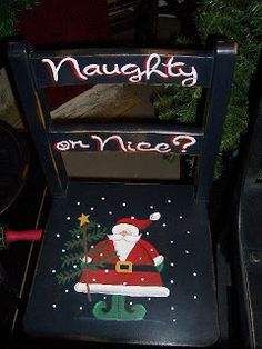 My Spare Time Designs - naughty or nice chair