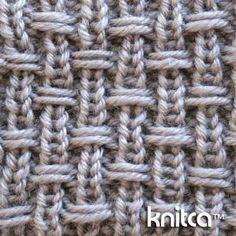 Strick-/Webmuster (sehr schön für Decken)