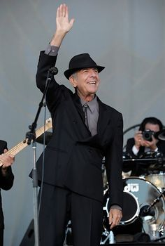 One of the best Concerts I have ever attend was Leonard Cohen. I wasn't a fan really before I bought the tickets, apart from Hallelujah being an all time fav. My partner Glenn was the fan - and I joined him the night of the concert:) Awesome!