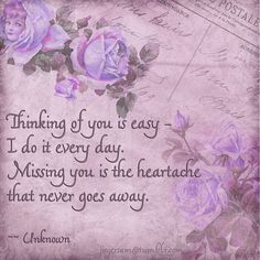 #missing a love