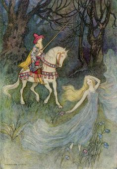 The Elf Queen, Warwick Goble