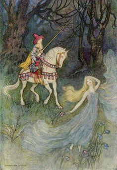 The Elf Queen, Warwick Goble