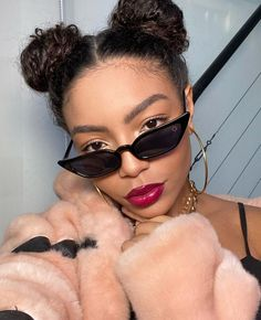 Black Power, My Beauty, Cat Eye Sunglasses, The Unit, Makeup, How To Make, Icons, Group, Nova