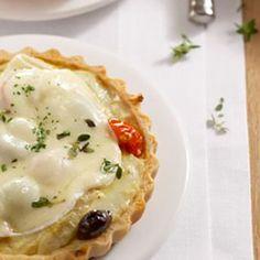 Recette : Tartelettes au fromage et coeur d'artichaut - Recette au fromage