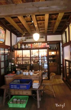 A cafe in Taiwan.