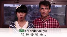 """Learn A Chinese Phrase: """"Fried Squid"""""""