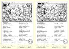 Me encanta escribir en español: preposiciones de lugar