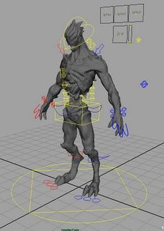 Animation Buffet. Free Maya rigs.