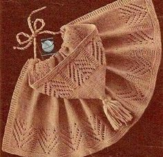 bebek-hirkasi-modelleri-orguyapilisi-com-11 – orguyapilisi.com Knitting For Kids, Baby Knitting Patterns, Hand Knitting, Knitting Needles, Baby Pullover, Baby Cardigan, Crochet Designs, Knitting Designs, Crochet Poncho