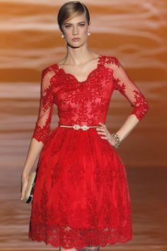 Carla Ruiz vestidos de fiesta 2015. Disponible en www.boutiqueclara.com