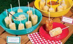Corn cob pops! Add seasonings for an extra POP!