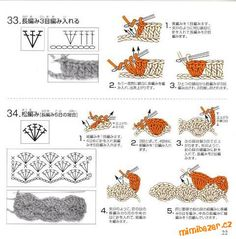 View album on Yandex. Crochet Symbols, Crochet Chart, Knit Crochet, Crochet Patterns, Crochet Ideas, Crochet Baby Shoes, Diagram, Knitting, Holiday Decor