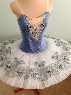 Shades of blue and silver, DQ DESIGNS tutus and more (contrast, color, embelishment)