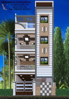House Outer Design, Modern Small House Design, House Outside Design, Modern Exterior House Designs, House Front Design, Modern House Plans, 2 Storey House Design, Bungalow House Design, House Elevation