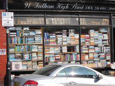 Bookshop at 91 Fulham High Street