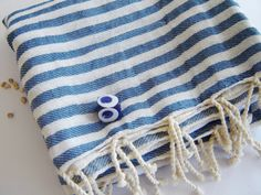 Set of 2 Turkish Bath Towel Handwoven Peshtemal by TheAnatolian, $46.00