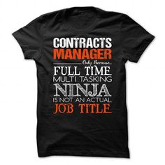 Contracts Manager T Shirts, Hoodies. Check price ==► https://www.sunfrog.com/No-Category/Contracts-Manager.html?41382