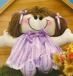 Moldes Para Artesanato em Tecido: Boneca lili com Moldes
