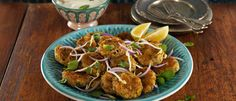 Mike's 4 Bean Falafels with Roasted Garlic Yoghurt & Parsley Salad recipe from Food in a Minute