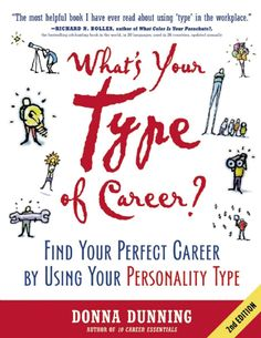 Keeping in mind that satisfaction at work requires finding a position that aligns specifically with personality traits, author Donna Dunning uses the Myers-Briggs Type Indicator® to expose eight natural work styles: the Responder, Explorer, Expeditor, Contributor, Assimilator, Visionary, Analyzer, and Enhancer. With exercises, checklists, tips, and more, Dunning gives readers a five-step career planning process.