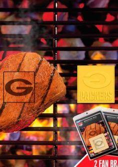 Fanmats  NFL Green Bay Packers Grilling Fan Brand 2-Pack