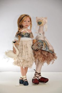 Zwergnase Dolls and Bears by Nicole Marschollek...Tant Levé