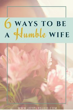 Keep your marriage safe from destructive pride by practicing humility with these six ways to be a humble wife. Click through to read.