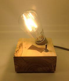 다음정류장 :: Wood block Lights _ 기울인 소켓 블럭 라이트 _ LED조명 _ DIY