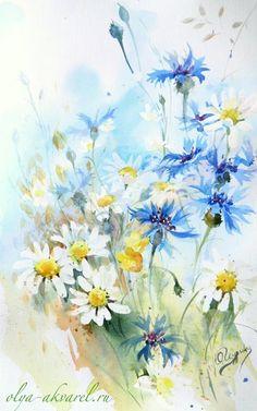 весна рисунки акварелью - Поиск в Google