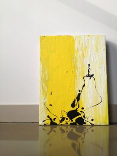 Original Contemporary Abstract Art Canvas par goodgravygreta