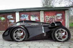 Futuristic UBO Car Concept   Spicytec