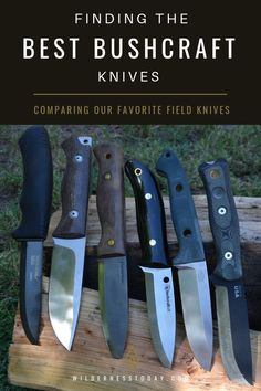 Looking for a trusty bushcraft knife taht won't die on you while out in the wild? Take a look at our favorite best bushcraft knives and maybe find the one. Bushcraft Projects, Bushcraft Skills, Bushcraft Knives, Bushcraft Camping, Survival Life Hacks, Survival Prepping, Survival Skills, Emergency Preparedness, Global Knives