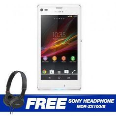 Sony Xperia L 8GB C2105 Android 4.1 (White)