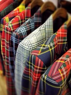 Ralph Lauren's Plaid Blazers.