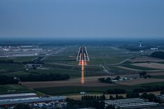 Coming in to land in BRU - Brussels Airport