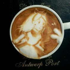 Jazzin up coffee with a lil bit of art