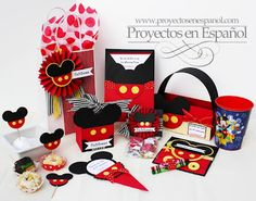 Mafer's Creations: MICKEY MOUSE INVITATION