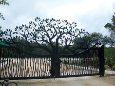 Gate to Peaceful Living...Los Arboles Tulum Mexico