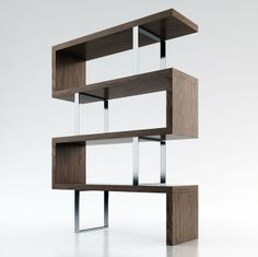 pearl bookcase  The Pearl bookcase by ModLoft adds a modern edge to any room…