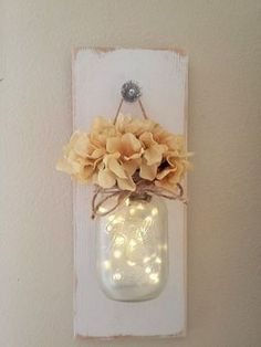 How To Make A Hanging Mason Jar Sconces The Easy Way. Are you a fan of mason jars or are trying to find creative ideas with mason jars? For those of y...